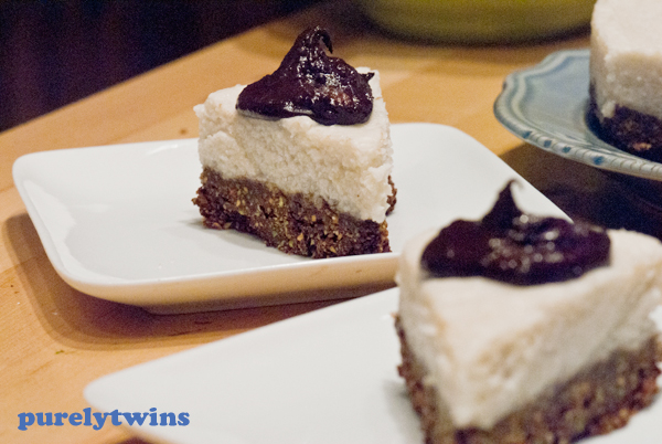 raw vegan cake dessert