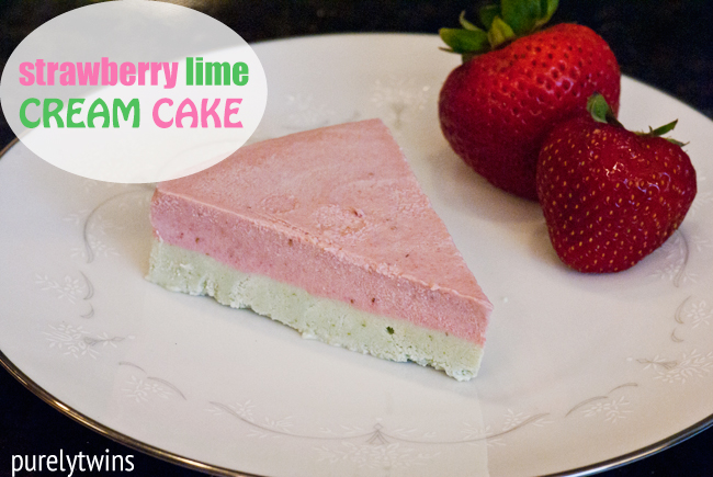 vegan strawberry lime cheesecake