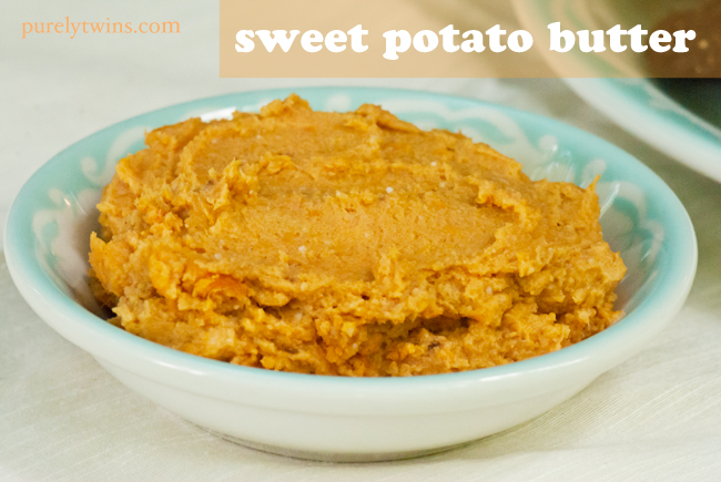 vegan dairy free healthy sweet potato butter