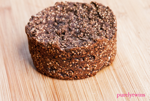 vegan chia seed protein muffin recipe