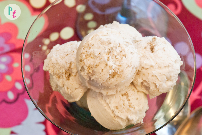 4 ingredient Dairy free coconut ice cream (vegan, nut free)