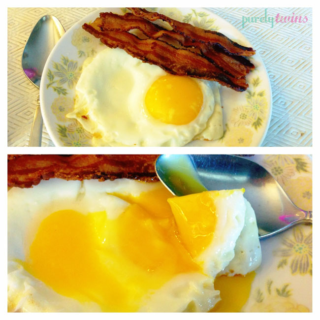 egg bacon breakfast