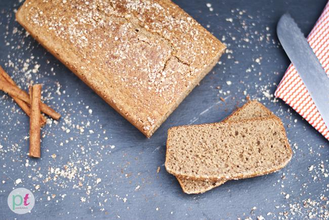 apple cider quick bread loaf
