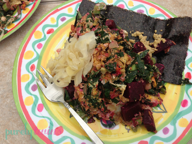seaweed lunch