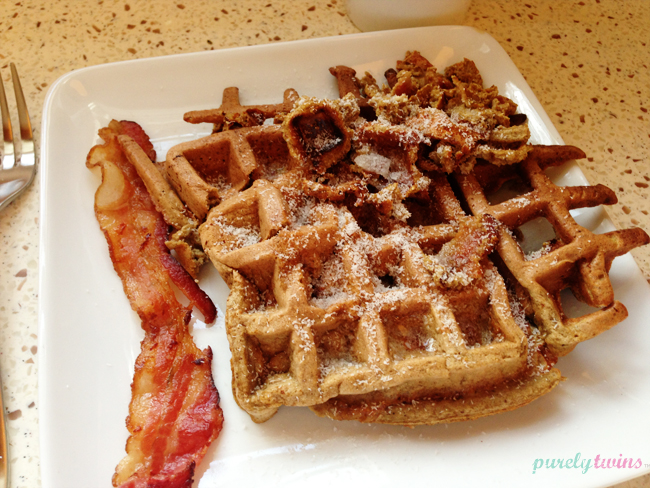 bacon-waffles