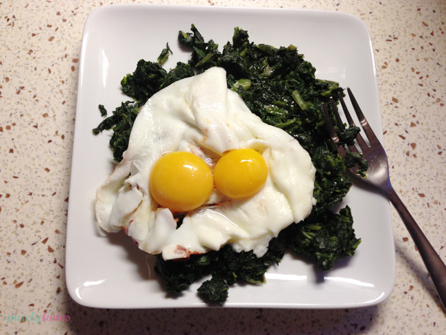 eggs-spinach