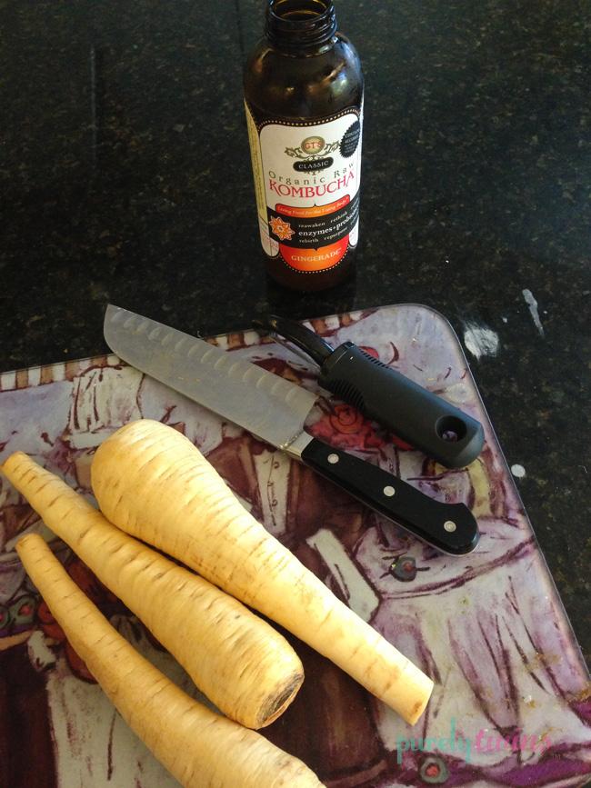 kombucha food prep