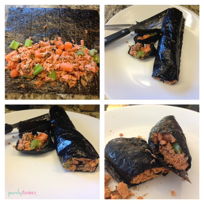 nori salmon wrap