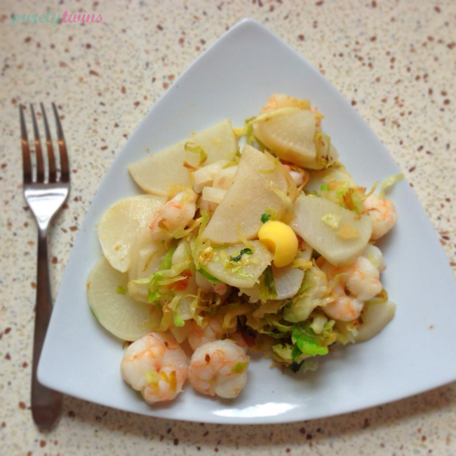 shrimp-ghee