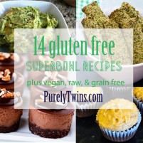 superbowl recipes (gluten free)