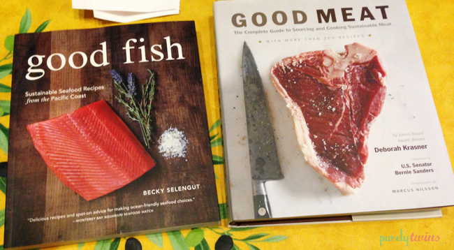 fish and meat books