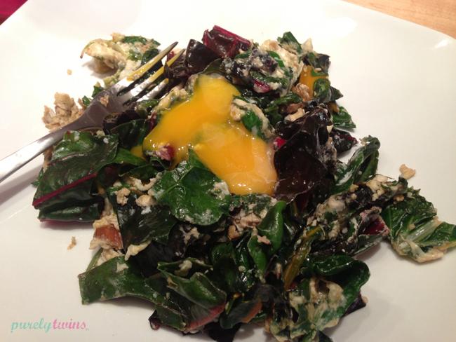 eggs-chard