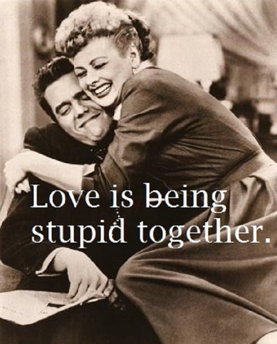 loveisbeingstupidtogether