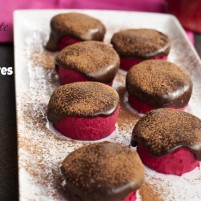 Be Mine Chocolate Covered Valentine Beet Fudge Bites