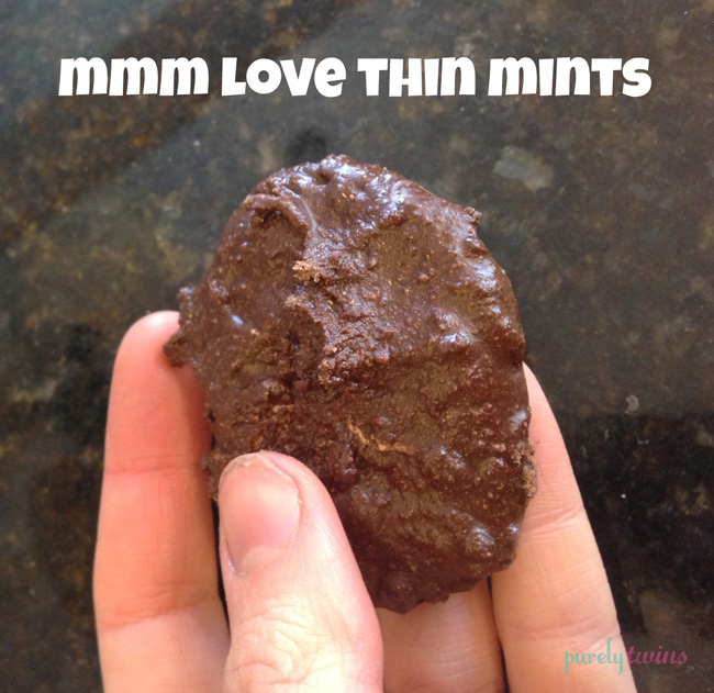 thin mint cookie snack