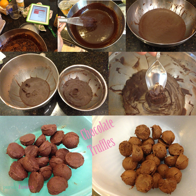 truffles from cookbook