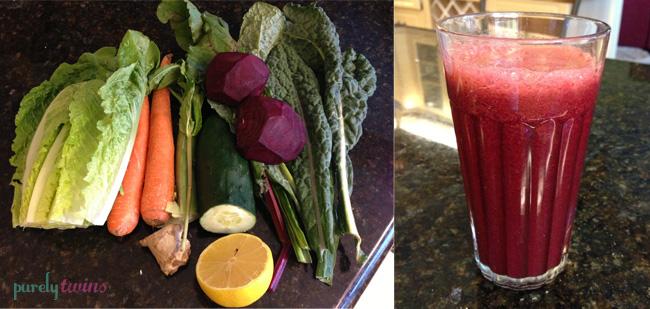 beet veggie juice