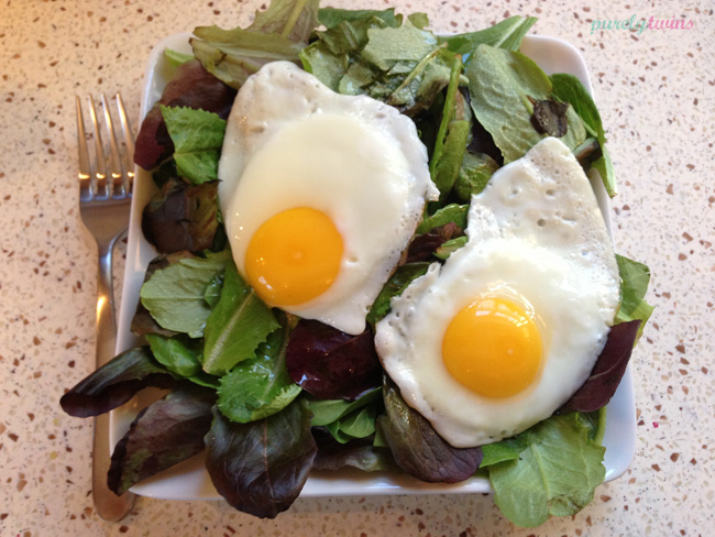 eggs-over-lettuce