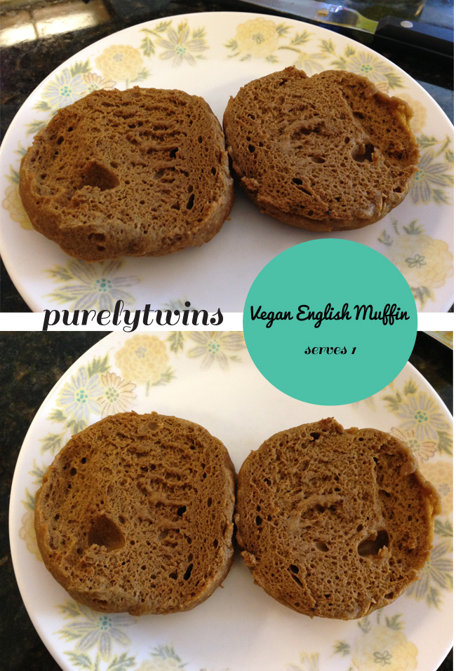 english muffin made without eggs