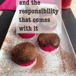 food bloggers and taking responsibility
