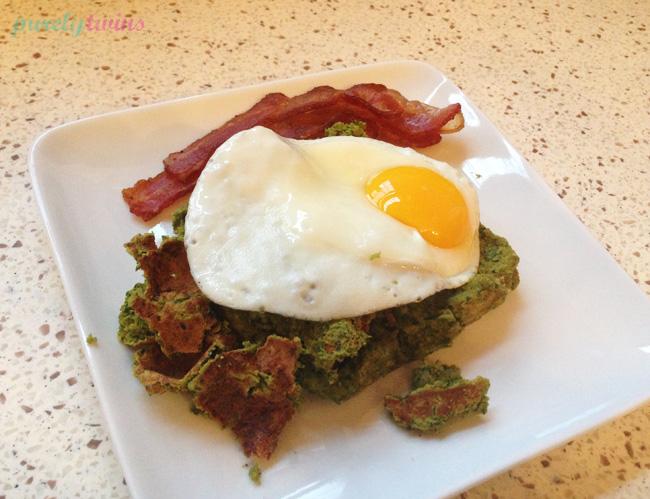 greenwafflewith egg