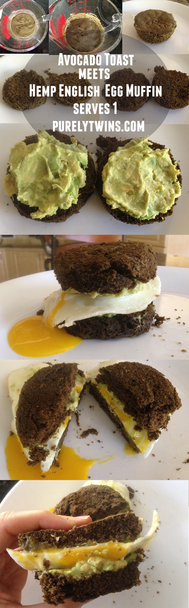 how to make grainfree egg avocado sandwich
