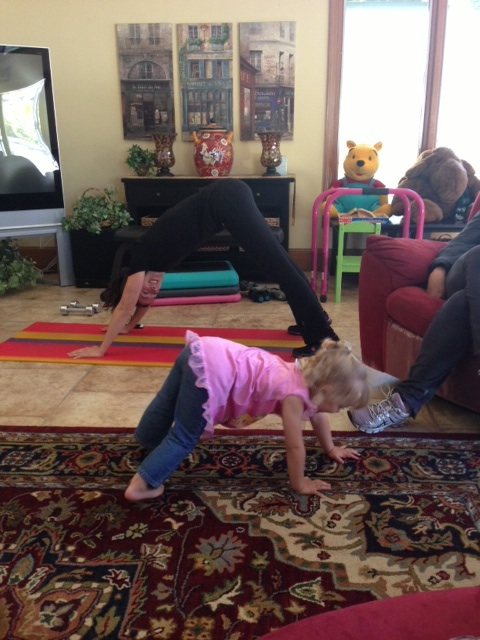 joy downward dog