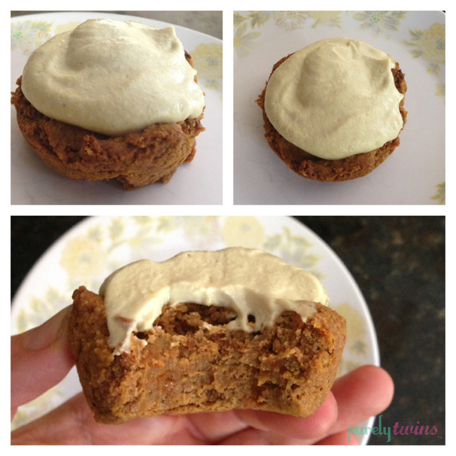 mini carrot cakes-saturday