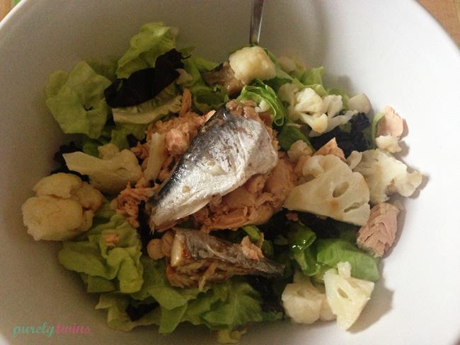 sardines-salad