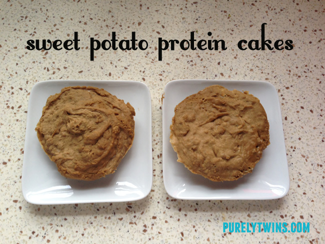 sweet potato protein cakes