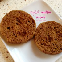 single serving vegan english muffin recipe (gluten-free)