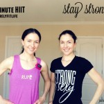 Purely Fit Life workout #5- 15 minute HIIT workout with cool down