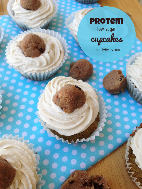 banana-low-sugar-protein-cupcake