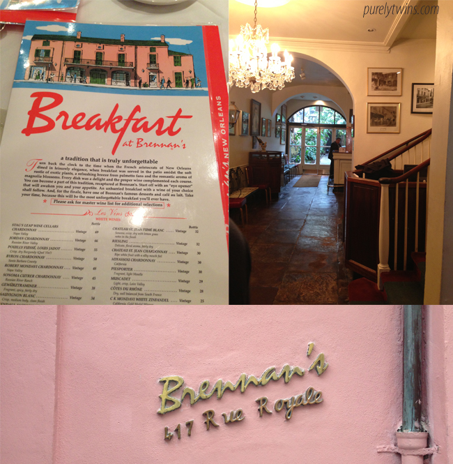 breakfast at brennans