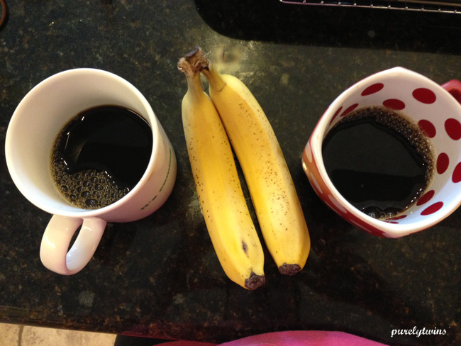 coffee and banana