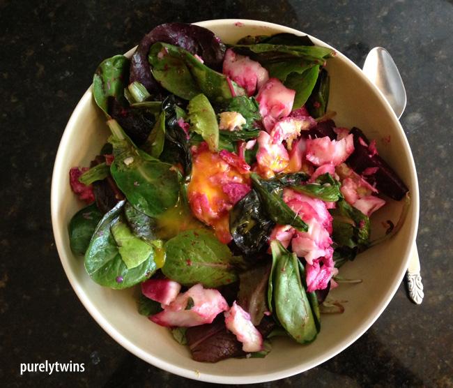 egg cod salad