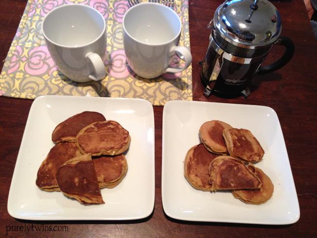 pancake and cofee