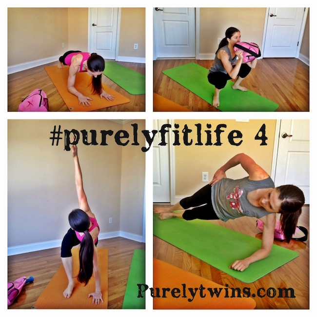 purely fit life workout #4 – full body plank workout