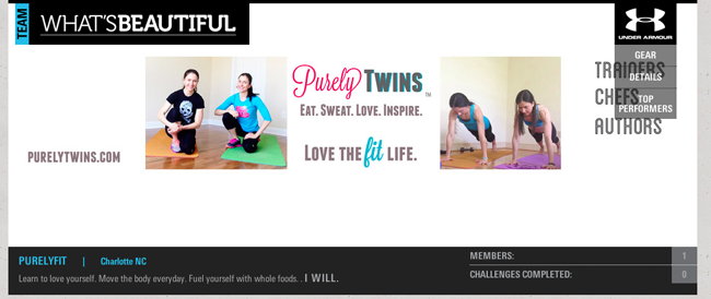 what's beautiful purelyfit team