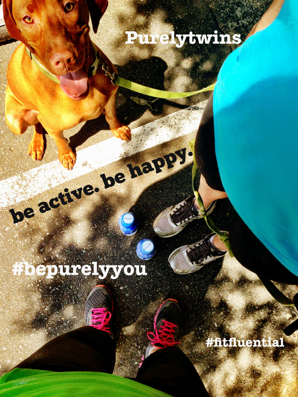 be active. be happy