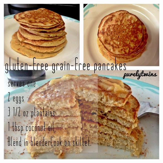 gluten-free grainfree pancakes