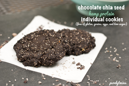 grainfree chia cookies
