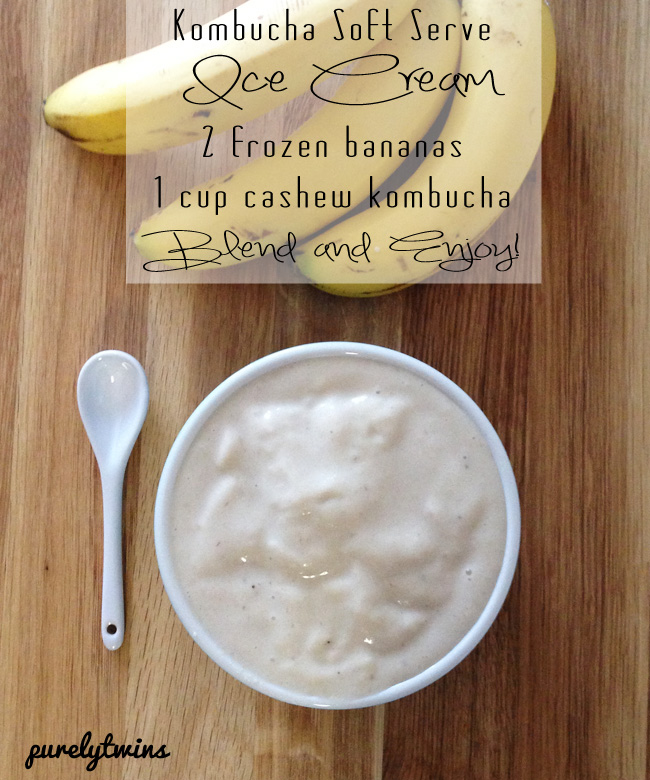 kombucha banana ice cream