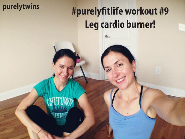leg cardio burner purelyfitlife twins