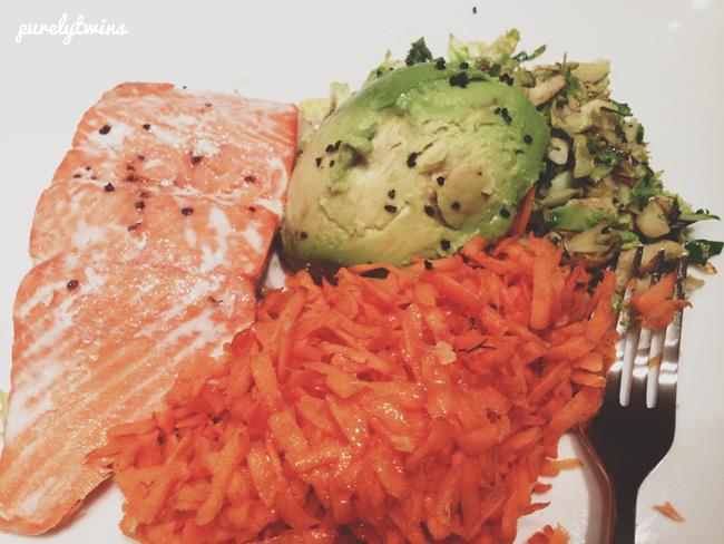 lori salmon dinner