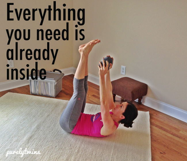 everything you need is already inside you #purelytwins