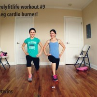 quick leg cardio burner – purelyfitlife workout #9