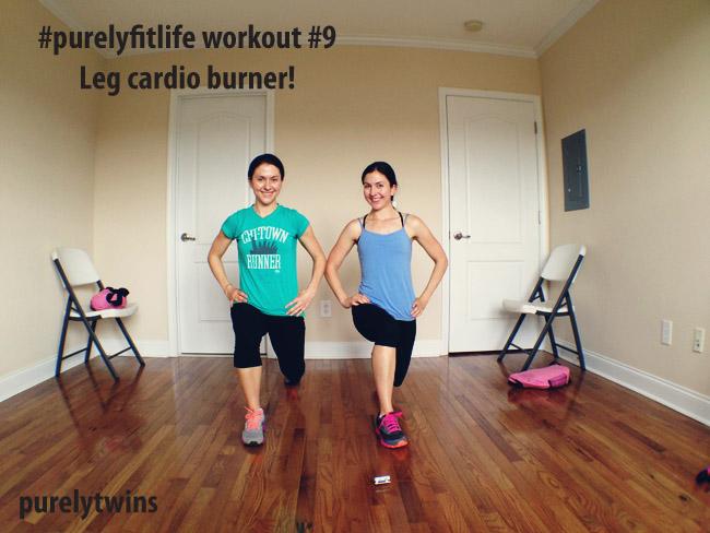 quick leg cardio burner – purelyfitlife workout #9
