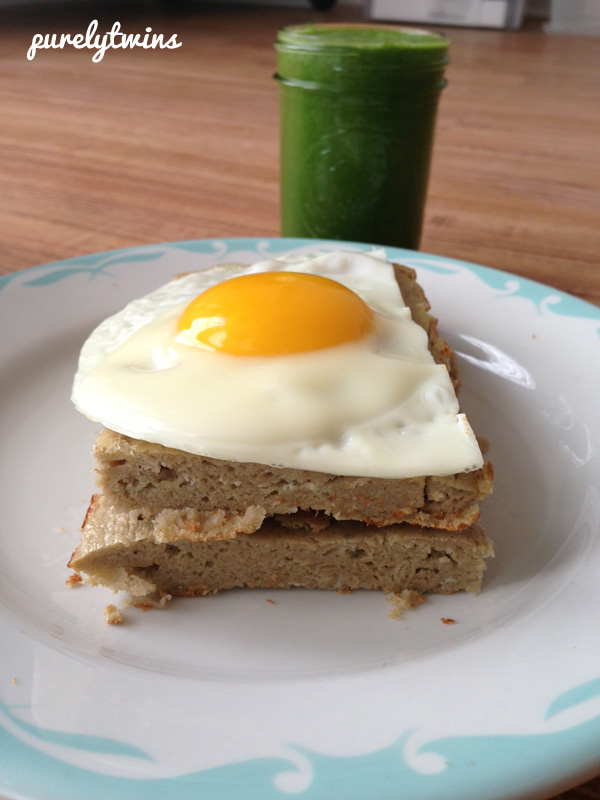 plantain egg breakfast cake