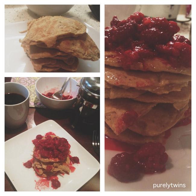 sunday egg pancakes